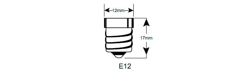 E12 base cap schematic