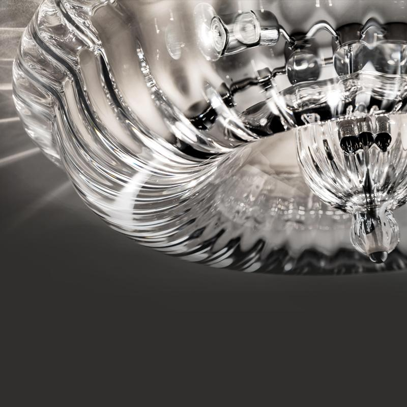 Novecento Chandelier Details Clear