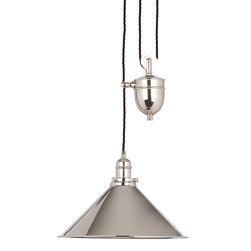 Provence Rise & Fall Polished Nickel