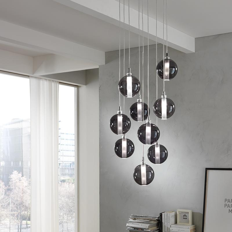 Eclisse 8 Light Pendant