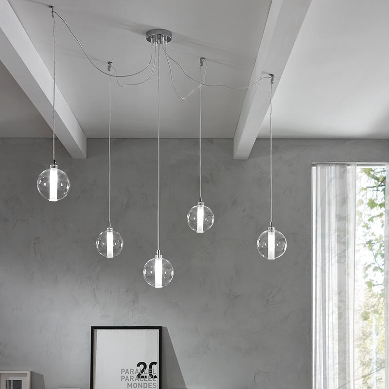Eclisse 5 Light Pendant
