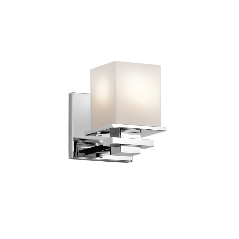 Tully Chrome Wall Light