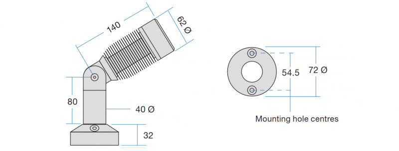 Accento 12 mount schematic