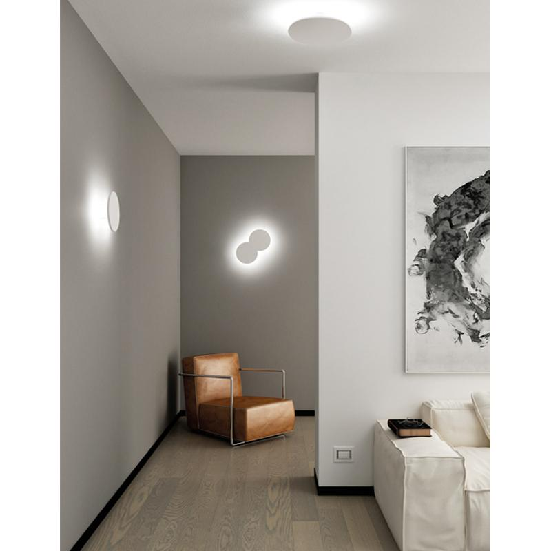 Collide wall and ceiling light