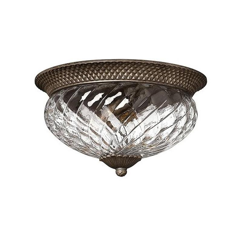 Plantation ceiling mount bronze