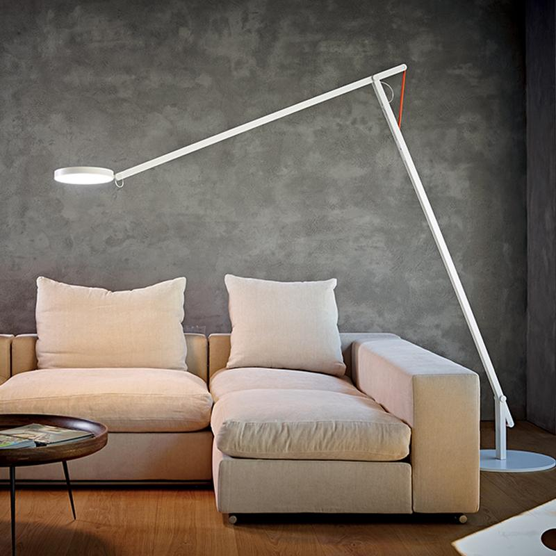 String XL lamp over couch