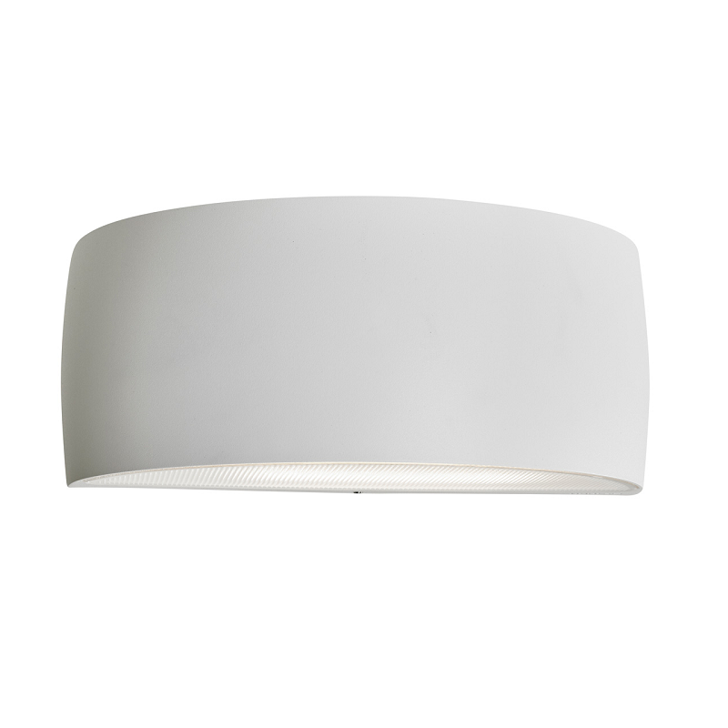 White exterior Wall light