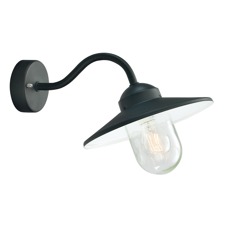 Karlstad Black wall light