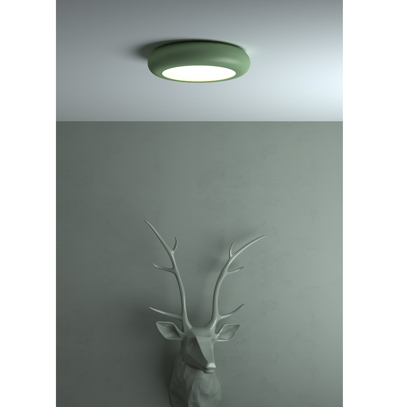Emma Pale Green Ceiling Light