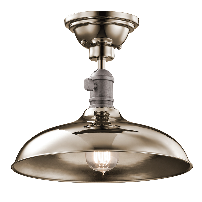 Cobson Medium Semi-Flush