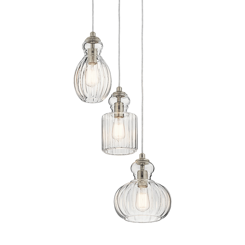 Riviera 3 Light Pendant