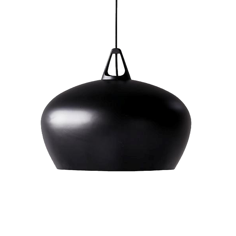 Black Belly Pendant Light