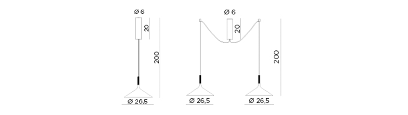 Dry Suspension Dimensions
