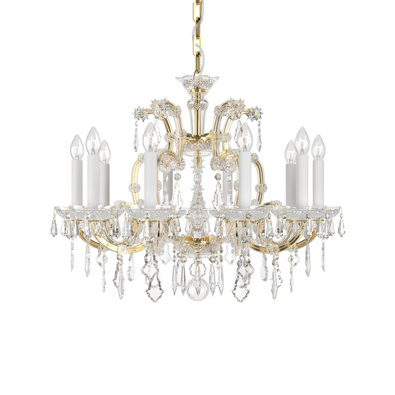 Maria Theresa 10 Light Chandelier