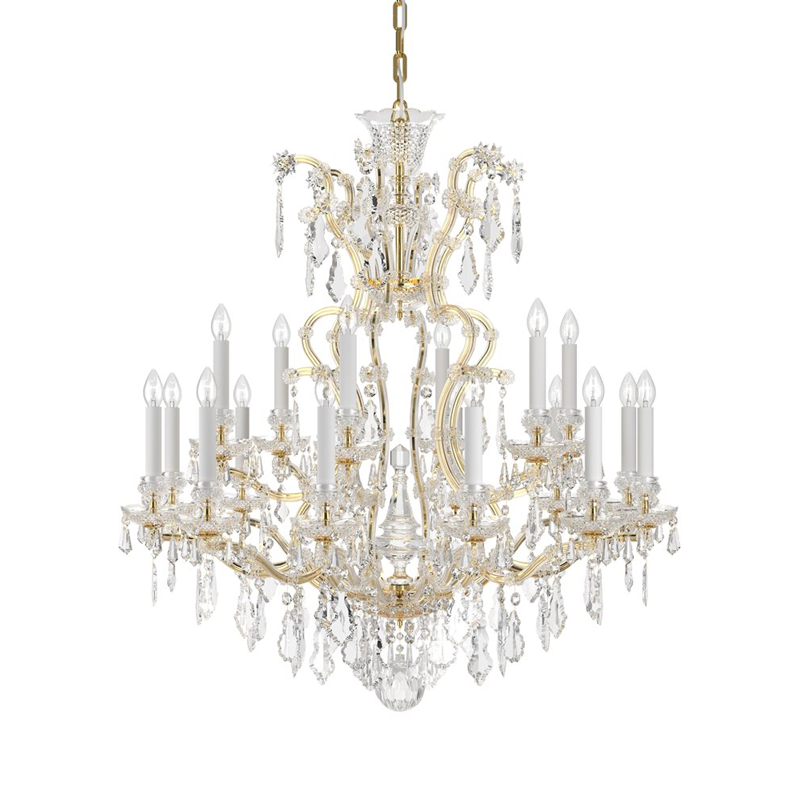 Maria Theresa 18 Light Chandelier