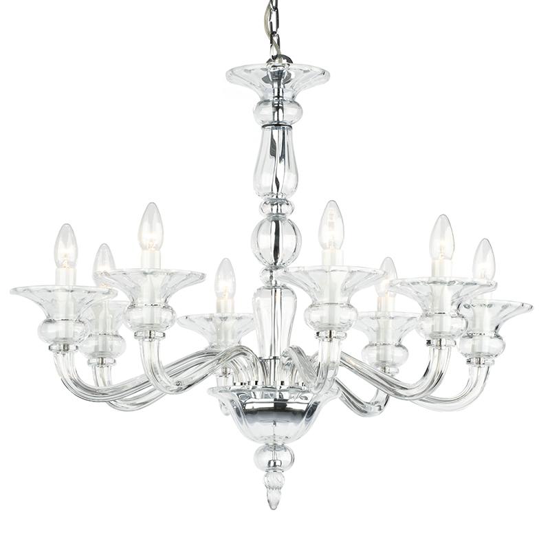 Odetta 8 Light Crystal