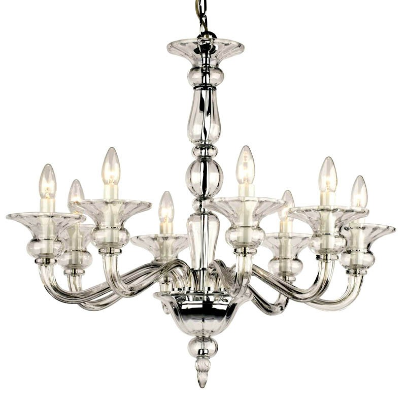 Odetta 8 Light Chrome