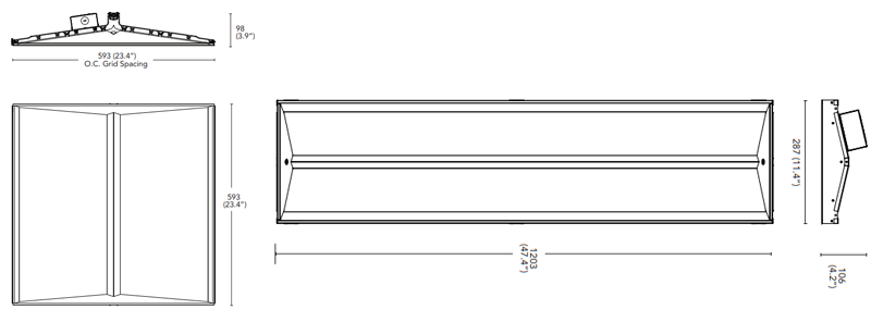Gable Panel Dimensions