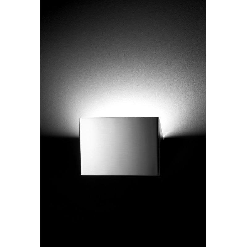 Up-Light Nickel Wall Light