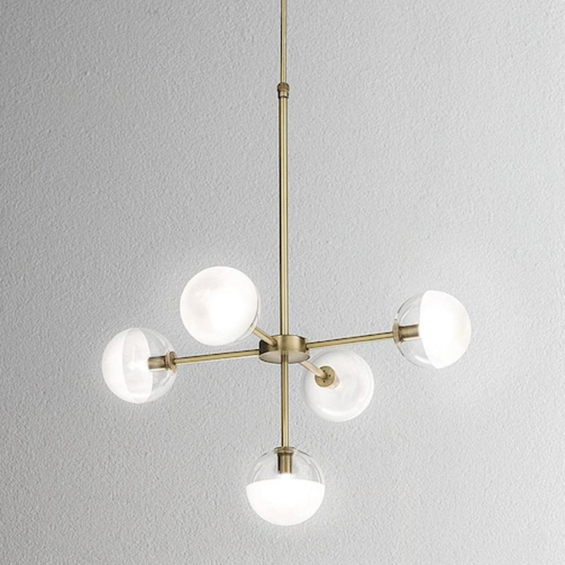 Molecola 5 Light Chandelier