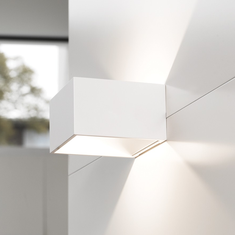 Kube Wall Light white