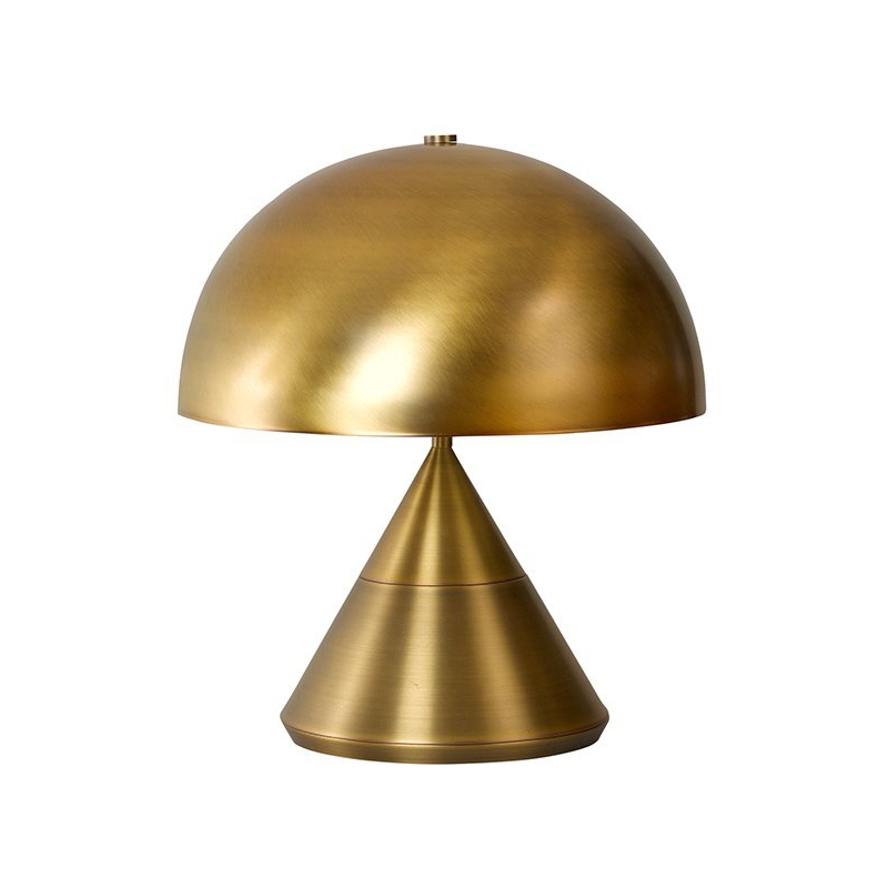 The Wayy Antique Brass Lamp & Shade