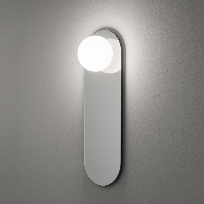 Mirror light oval