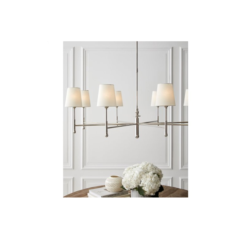 Capri 8 Light - Polished Nickel