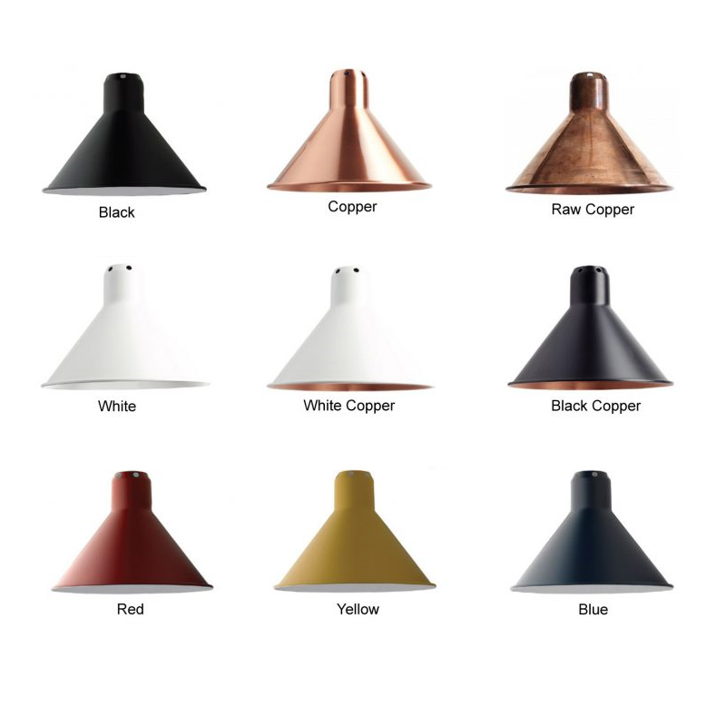 lampe gras conical shades