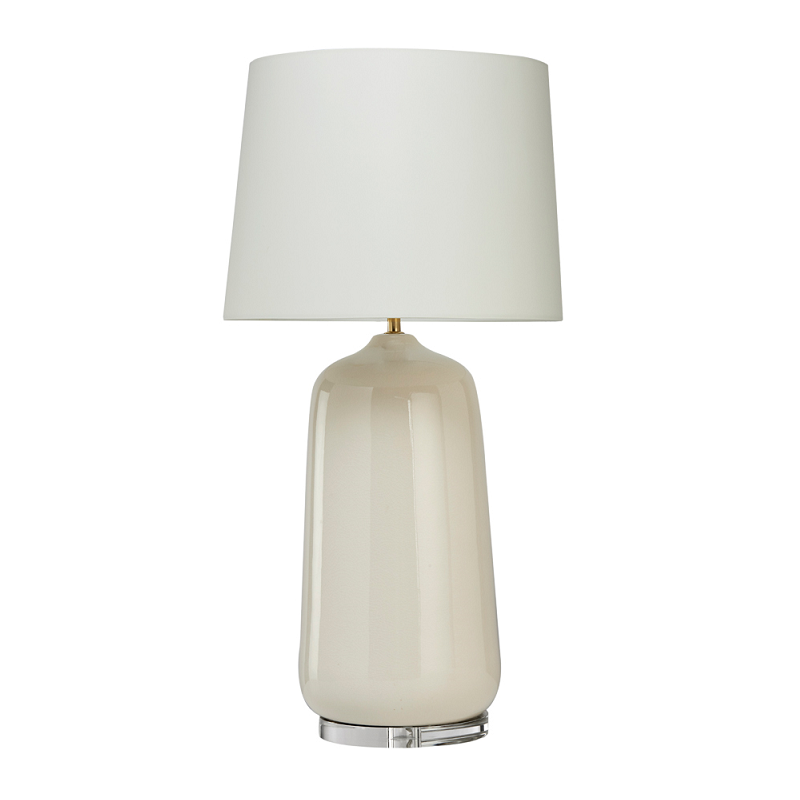 Whitney Cream Crackle Table Lamp