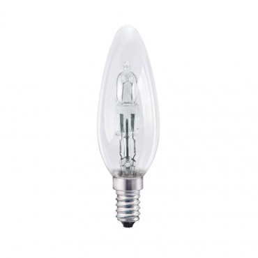 E12 halogen candle