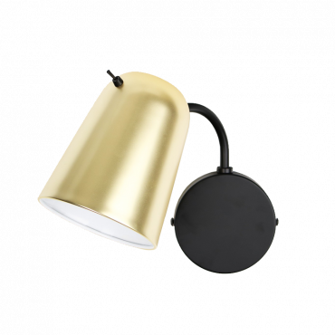 Dobi Wall Light Brass