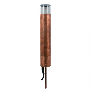 Copper Bollard light