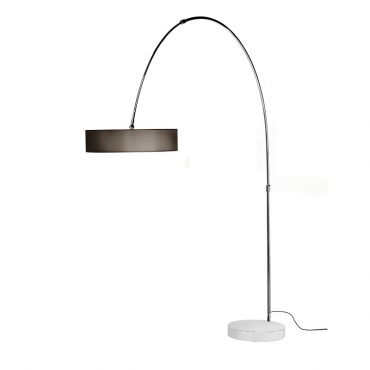 Iris Curved Arm Floor Lamp
