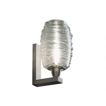Damasco Clear Wall Light