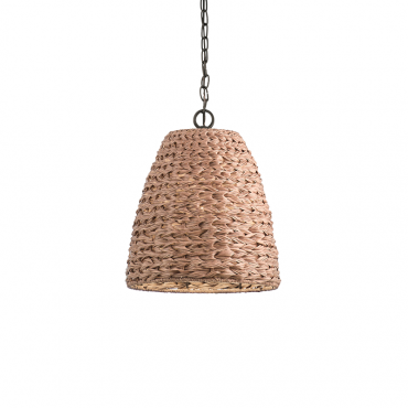 Palisades Basket Pendant Natural