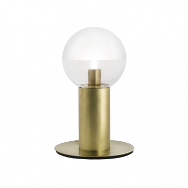 Molecola Table Lamp Natural Brass