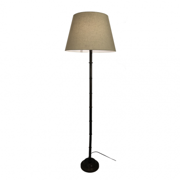 Bamboo Brass Floor Lamp
