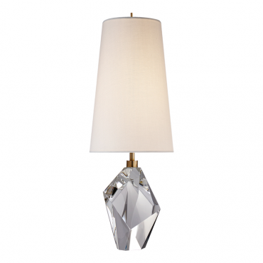 Halcyon Accent Crystal Lamp & Shade