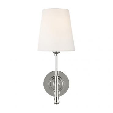 Capri 1 Wall Light - Polished Nickel