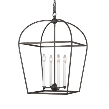 Stonington Medium 4 Light Lantern - Smith Steel