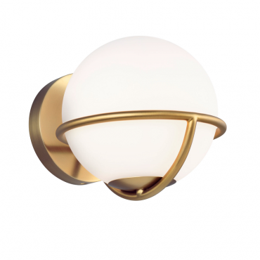 Apollo Wall Light - Burnished Brass