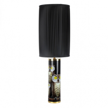 Fornasetti Civette Table Lamp