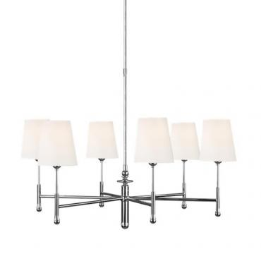 Capri 6 Light - Polished Nickel