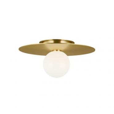 Nodes Medium Flush Mount - Brass
