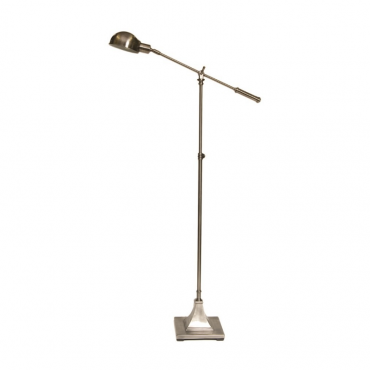 Adjustable Brushed Nickel Floor Lamp