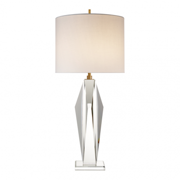 Castle Peak Crystal Table Lamp