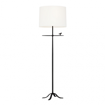 Caroline Aged Iron Floor Lamp