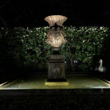 pond lighting design